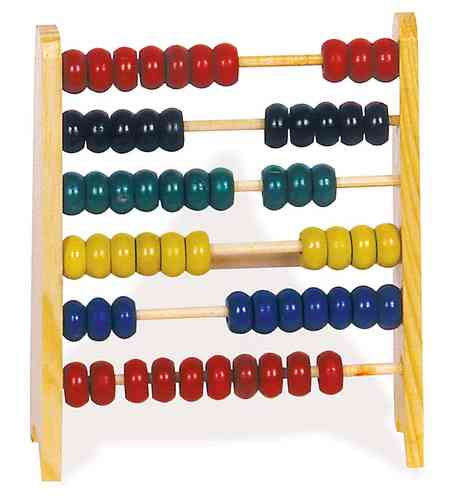 Small Abacus Educational Toy Counting Frame