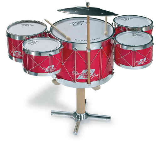 Children's Kids  6 Piece Toy Drum kit  From Kirkintilloch