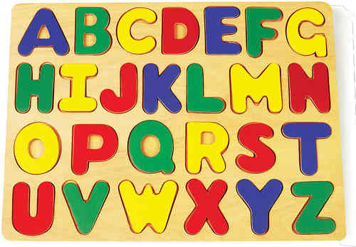 Wooden Educational Toy Alphabet Set Puzzle