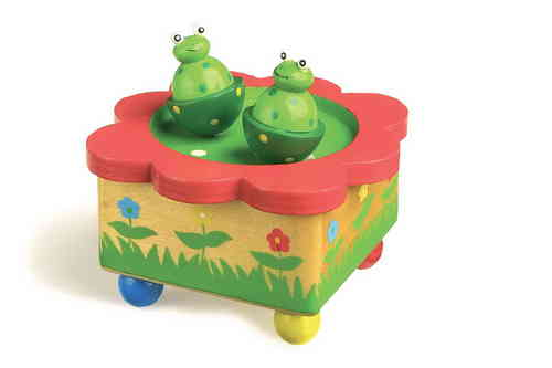 Musical Dancing Frogs