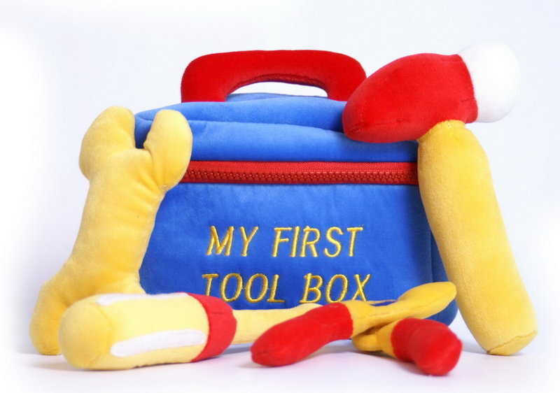 Soft Toy My First Tool Box Baby Toy Gift Kirkintilloch