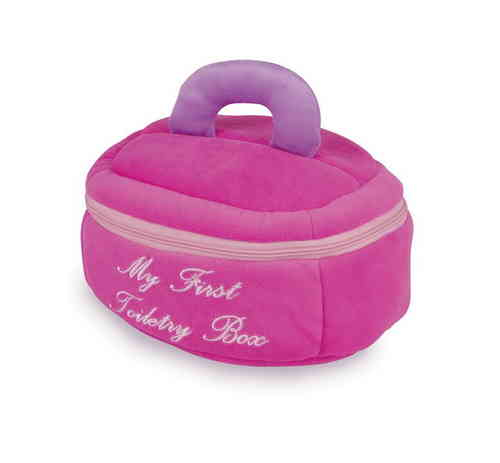 Soft Toy My First Toiletry Box Vanity Case Baby Toy Zipped Case With 4 Accessories brush comb etc.