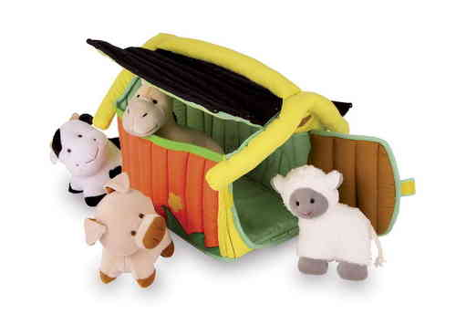 Soft Toy Baby Gift Farm With 4 Animals That Rattle Pig Horse Sheep Cow from Kirkintilloch Glasgow