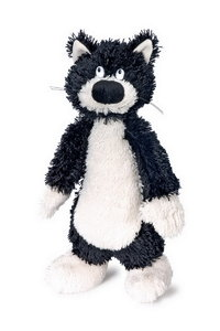 Soft Toy Scruffy Ferdinand Brown And White Bear  Slim and Unusual In Style FREE POSTAGE From Glasgow