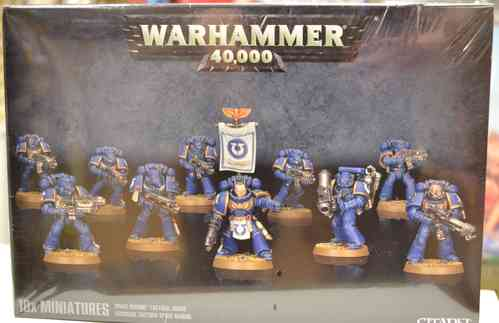 Warhammer Space Marine Tactical Squad Strategy War Game Figures Kirkintilloch Glasgow