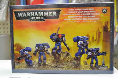 Warhammer 40k Space Marine Assault Squad
