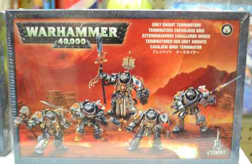 Warhammer 40k Grey Knight Terminators